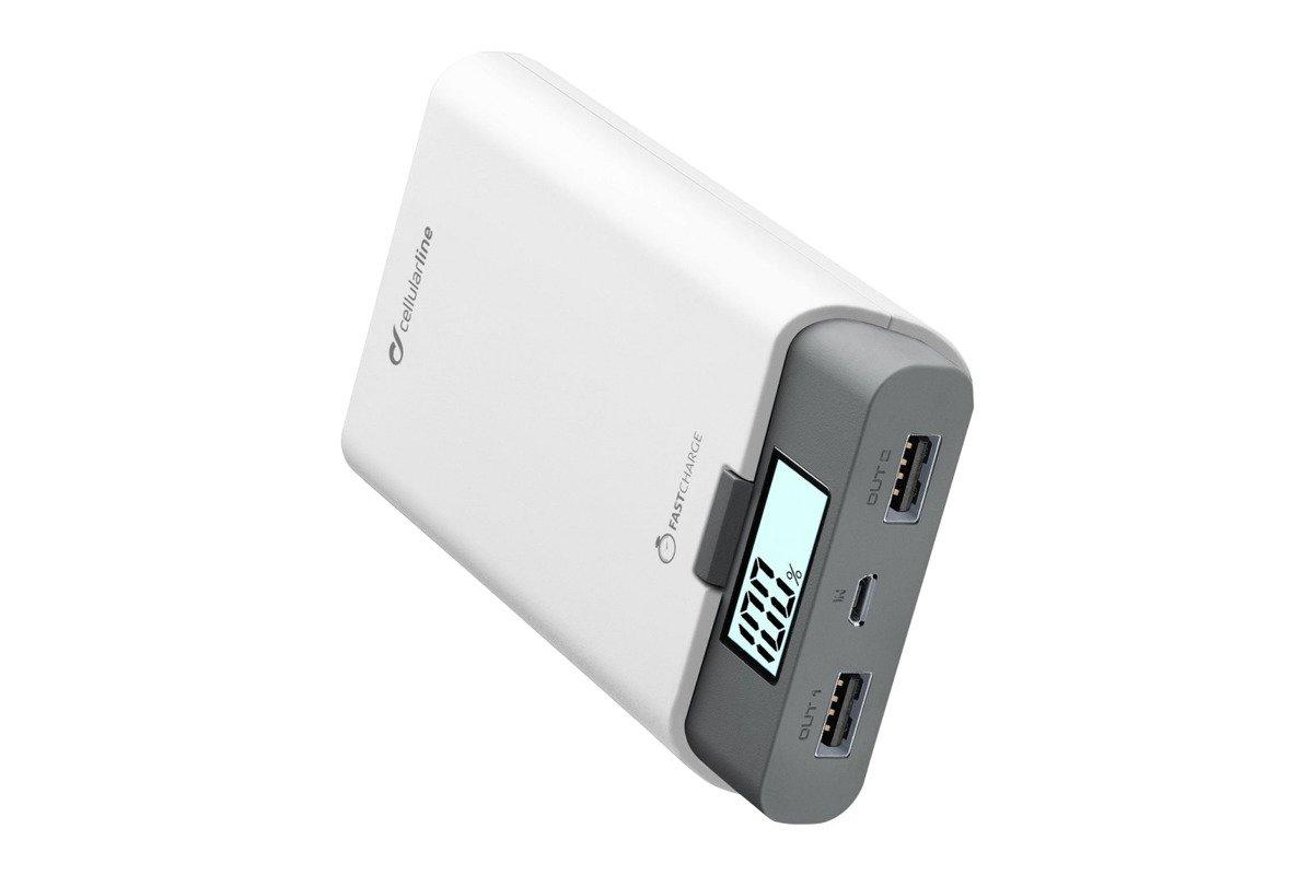 Powerbank Cellular line FreePower 10000 White
