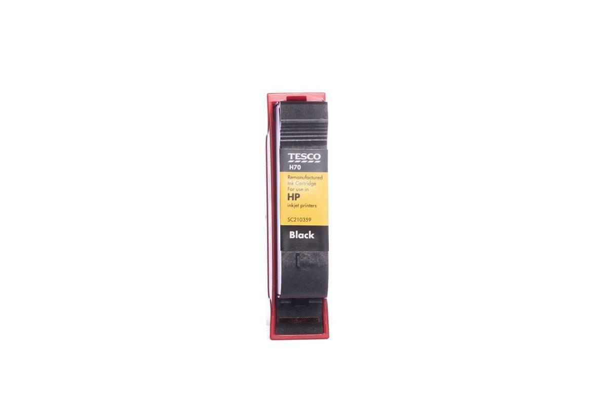 Remanufactured Ink cartridge Tesco HP H70 Black