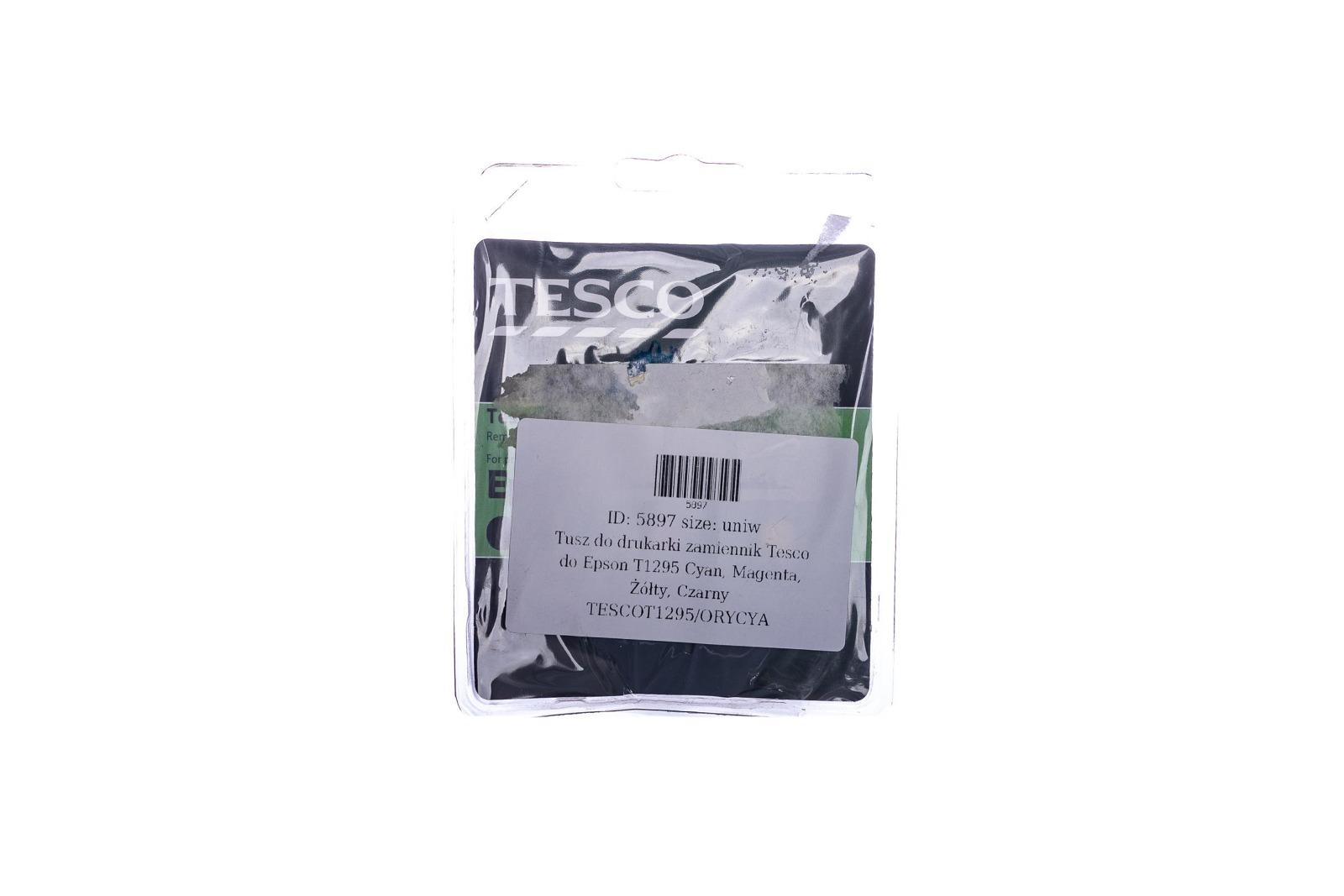 Remanufactured Ink cartridge Tesco Epson T1295 Cyan, Magenta, Yellow, Black