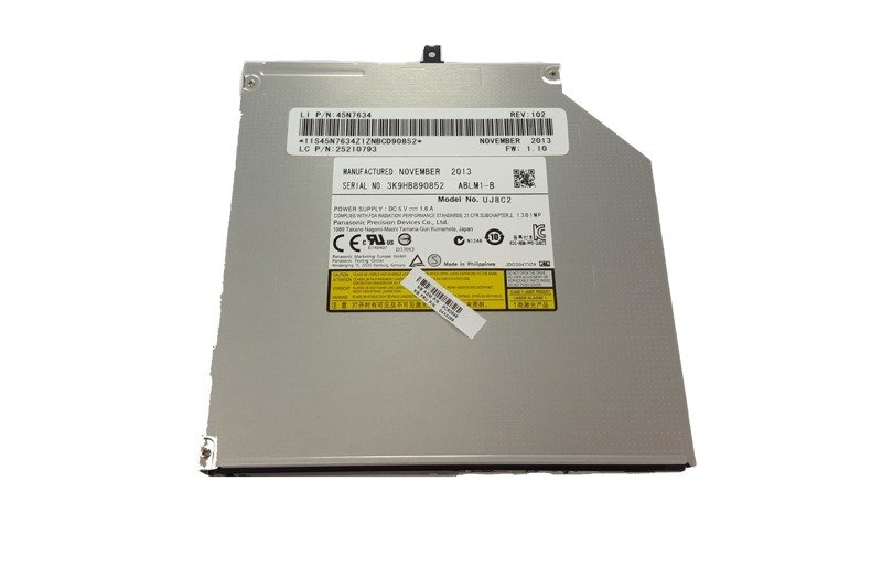 Burner drive DVD-RW Panasonic UJ8B2 UJ8C2 For Dell ASUS HP